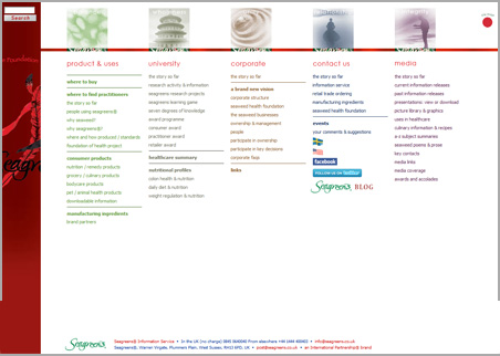 A page from the Seagreens web site